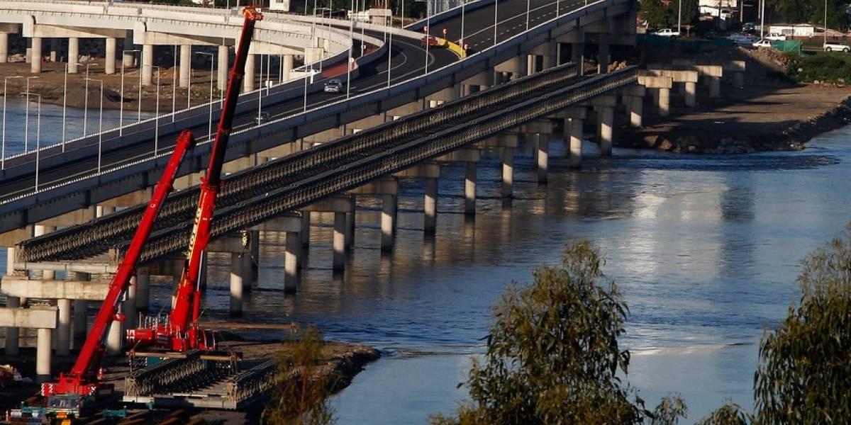 Quieren mover un puente mecano que funciona en el Biobío a otros lugares con problemas de conexión