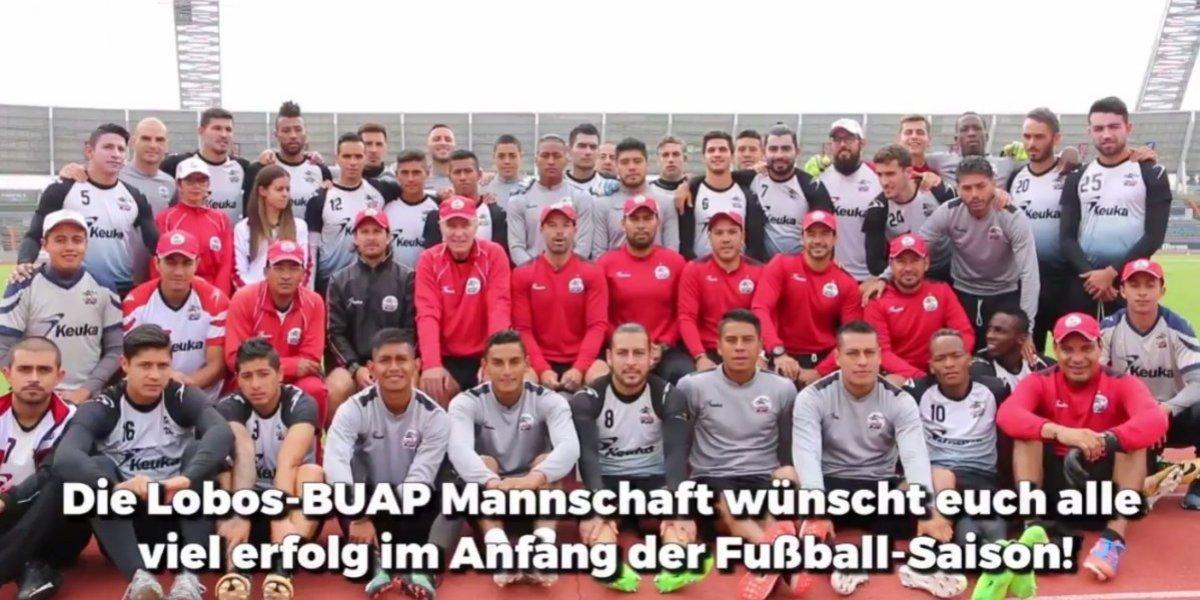 ¡No aúllan solos! Lobos BUAP manda emotivo mensaje al Wolfsburg