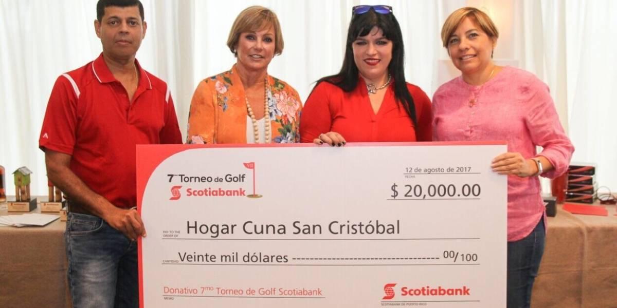 Exitoso 7mo Torneo de Golf Invitacional Scotiabank a beneficio del Hogar Cuna San Cristóbal