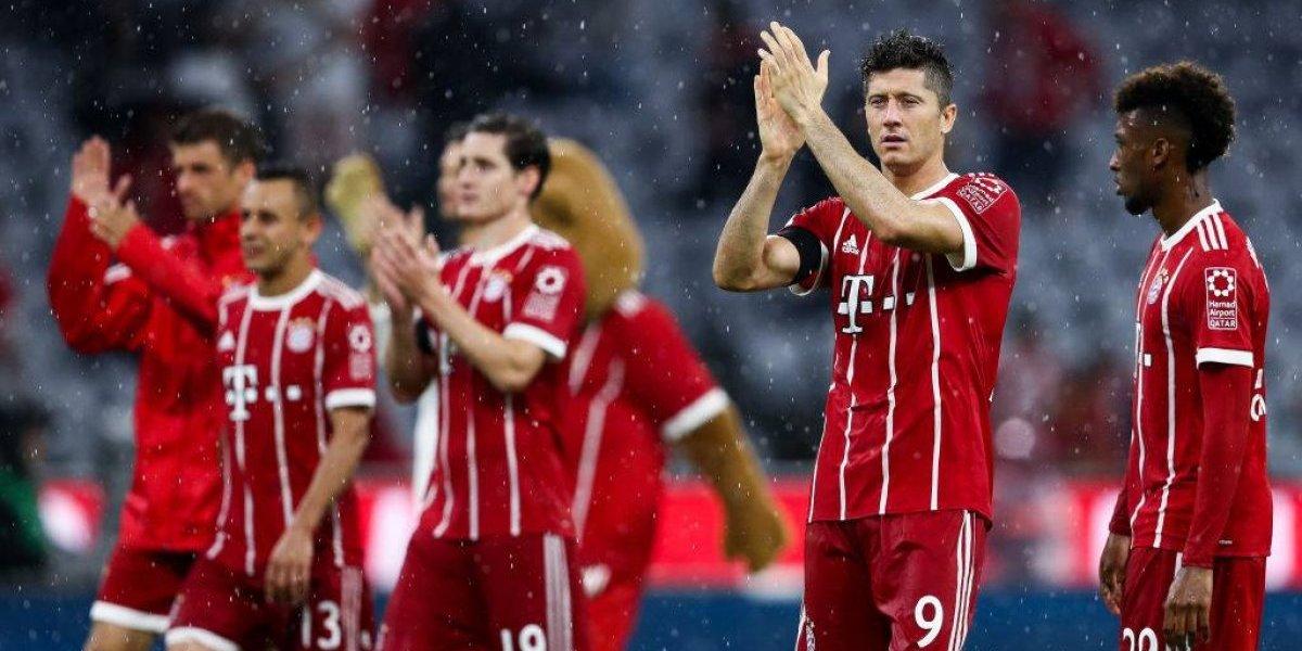 Bayern inicia Bundesliga con triunfo y ayuda del VAR