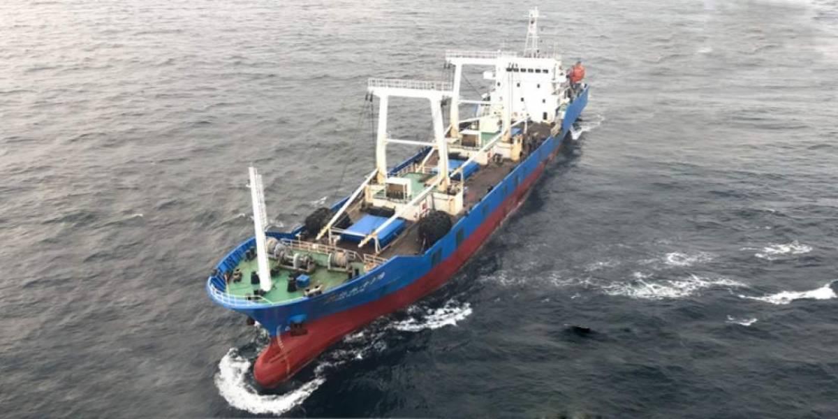 Ecuador presenta protesta formal a China por pesca de especies vulnerables