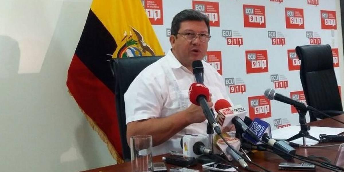 César Navas: Al parecer el señor Ramiro G. fue alertado del operativo