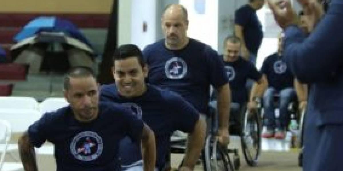 Rumbo a Colombia equipo nacional en silla de ruedas