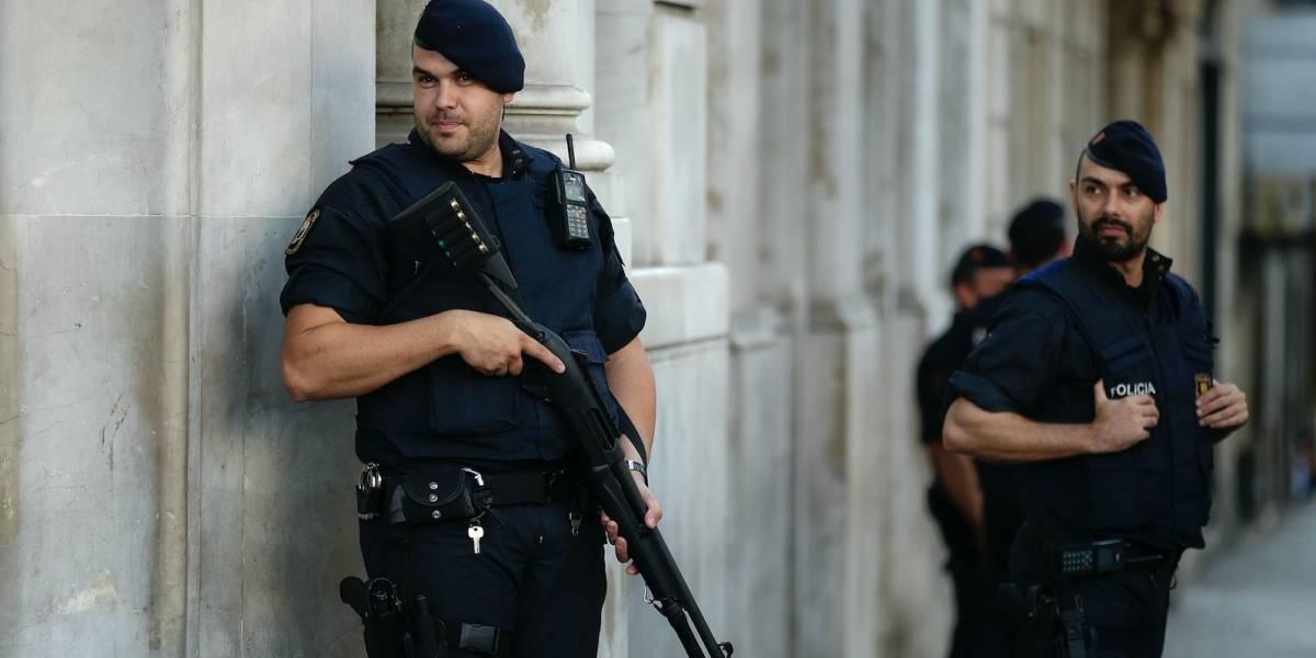 Allanan vivienda de presunto sospechoso en España