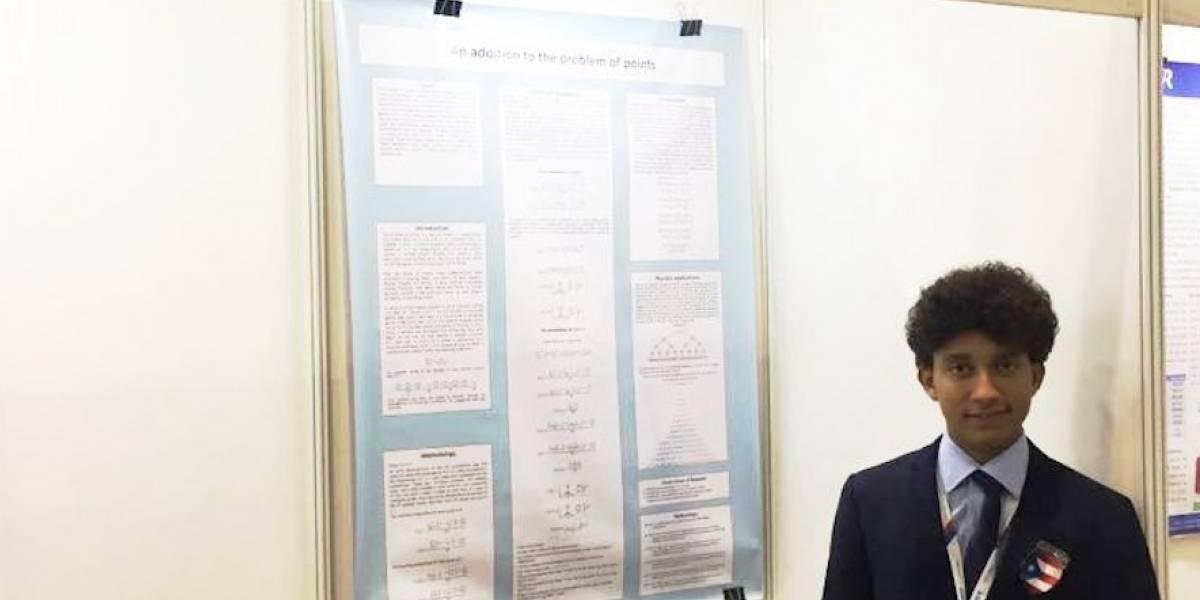 Estudiante de CROEM se crece en competencia de matemáticas en China