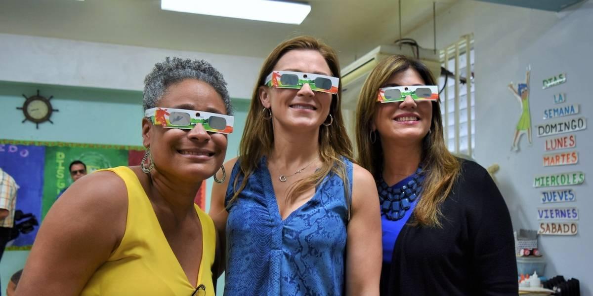 Hay trabajo en Educación el día completo del eclipse