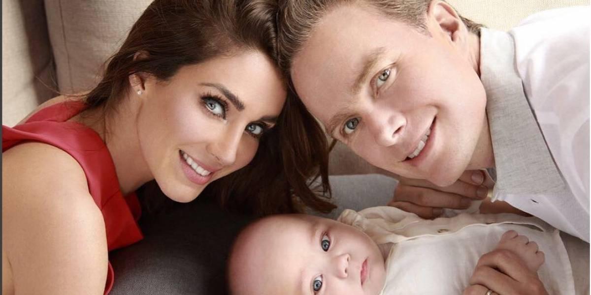 Anahí festeja con foto los siete meses de su bebé