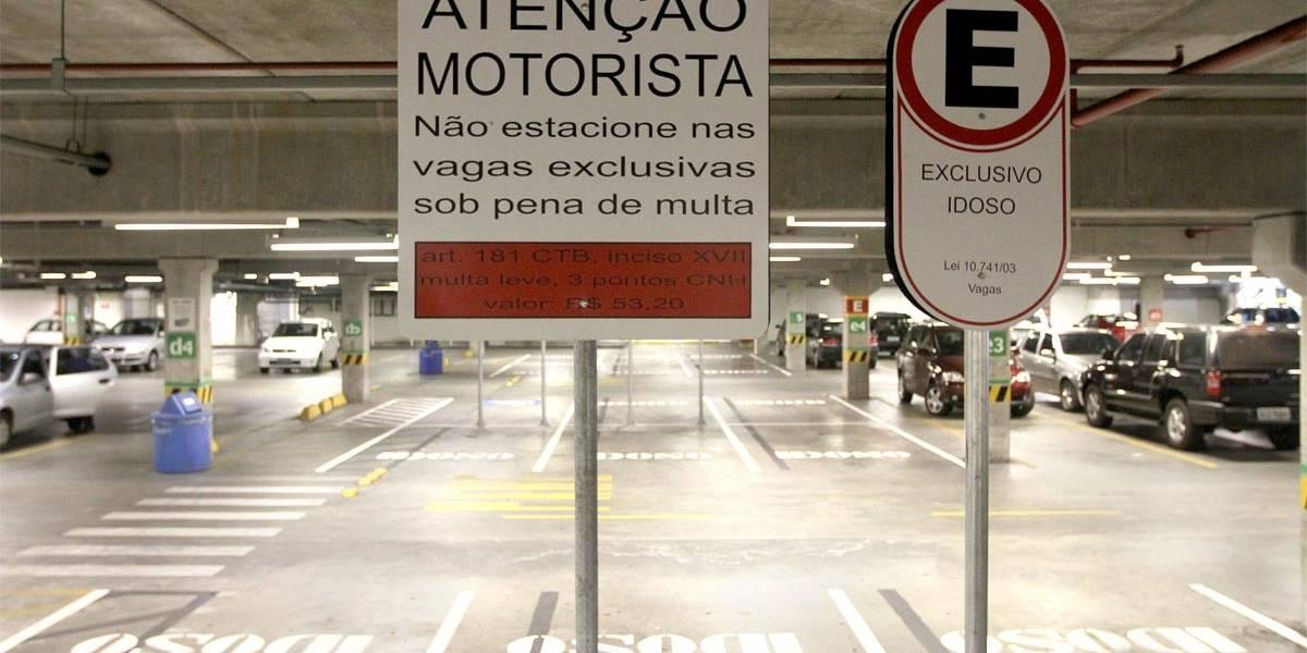 São Bernardo vai fiscalizar vagas especiais em estacionamentos de mercado e shopping