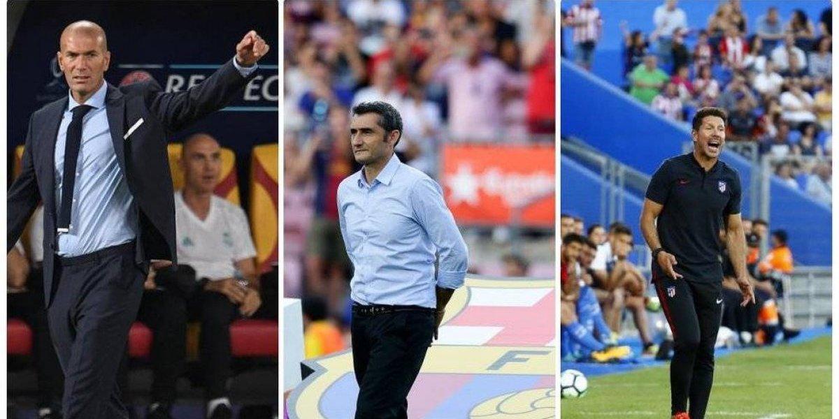Todo listo para que la Liga Española arranque