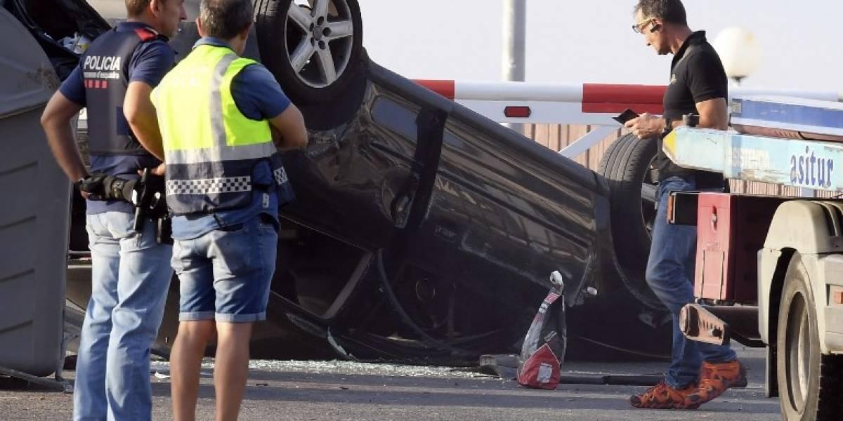 Estos son los cuatro sospechosos por el atentado — Barcelona