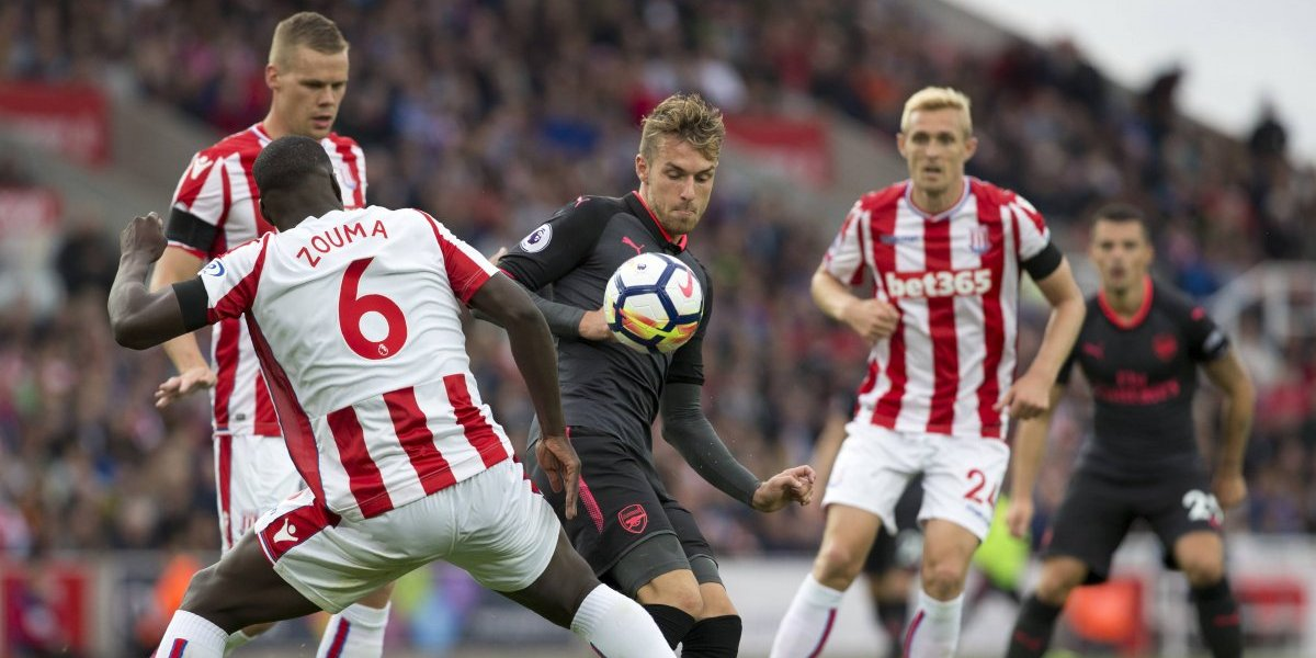 Stoke City sorprendió al Arsenal