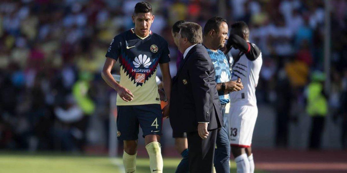 América apelará tarjeta roja a Edson Álvarez