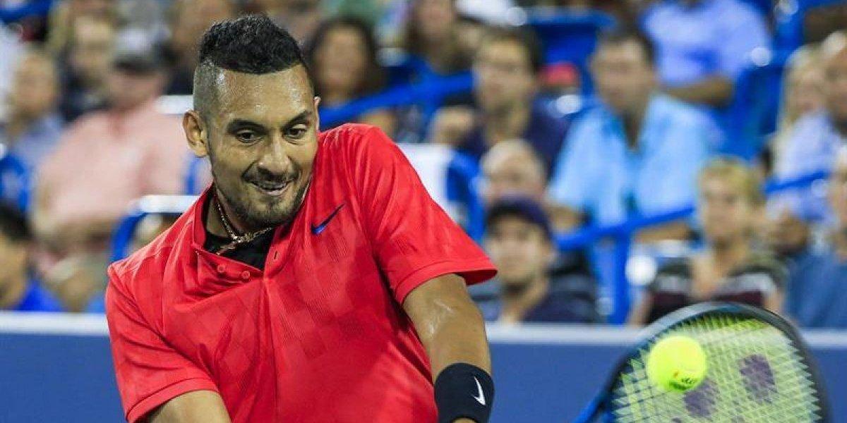 Nick Kyrgios dio la gran sorpresa y eliminó a Rafael Nadal en el Masters 1.000 de Cincinnati