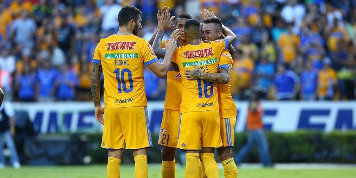 """Duelo """"felino"""" de chilenos en México: Tigres superó a Pumas con gol de Eduardo Vargas"""
