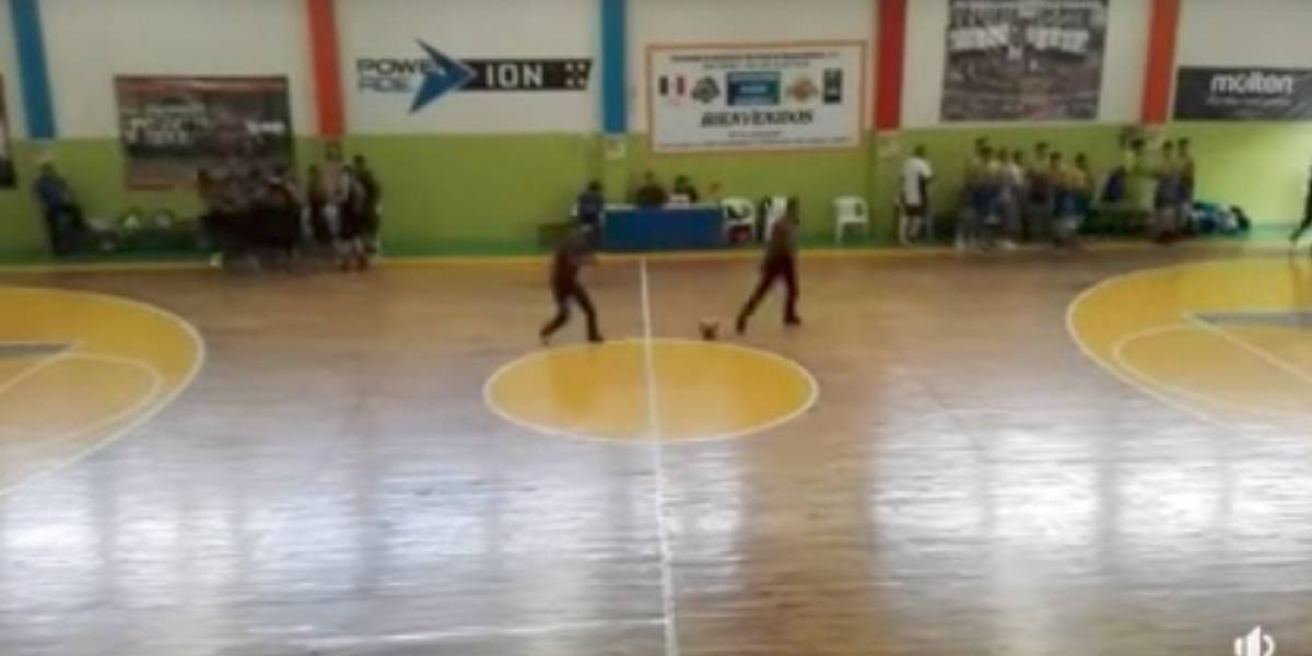 VIDEO: Balacera interrumpe juego de basquetbol en Aguascalientes
