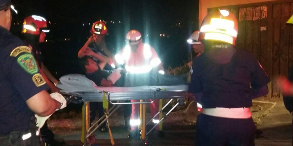 Deslizamiento en zona 6 deja una menor fallecida y tres personas heridas