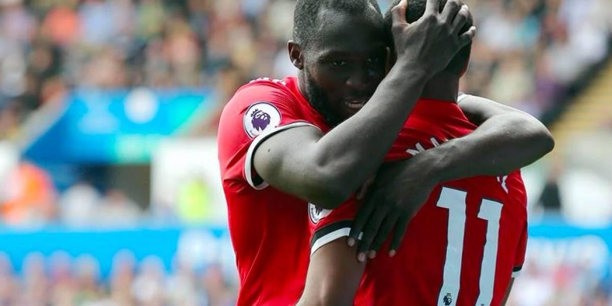 Manchester United continúa su buen arranque de temporada con una goleada al Swansea