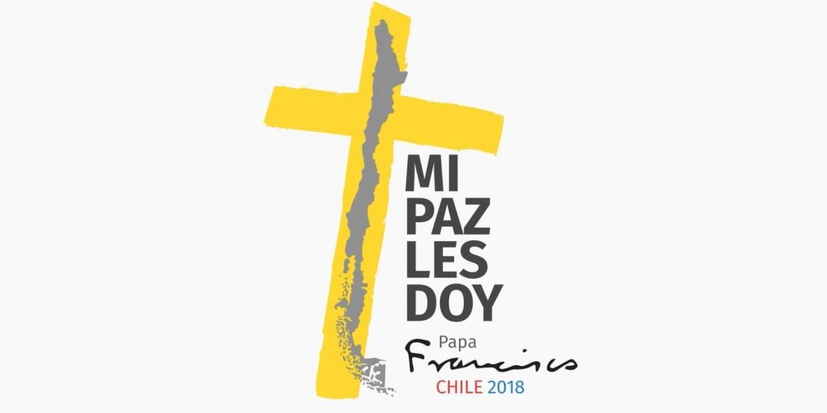 """""""Mi paz les doy"""": Presentan el logo y lema que acompañarán la visita del Papa Francisco a Chile"""