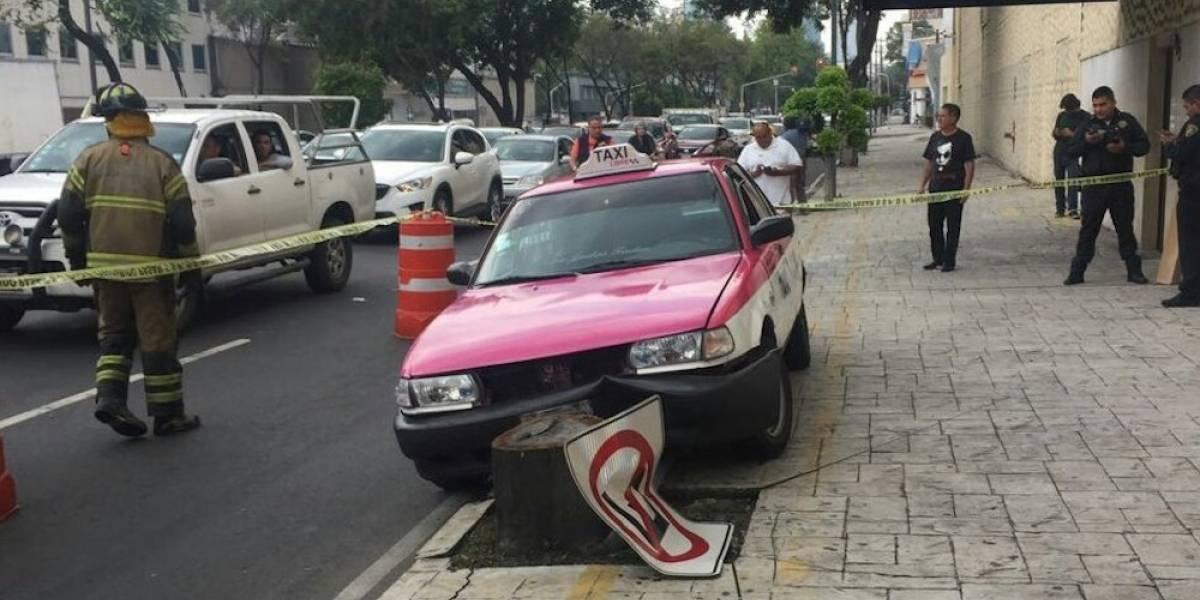 Muere taxista tras sufrir infarto en la colonia Doctores