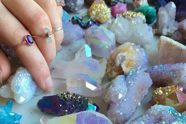 Cristales buenas vibras