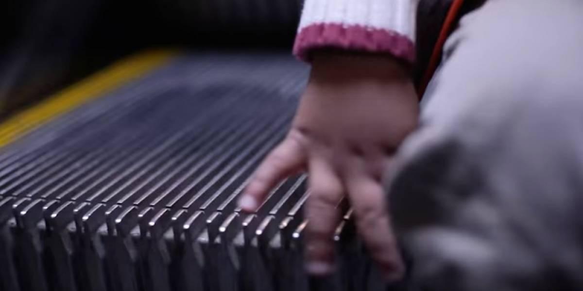 Niño pierde su mano en escaleras eléctricas del Metro Tacubaya