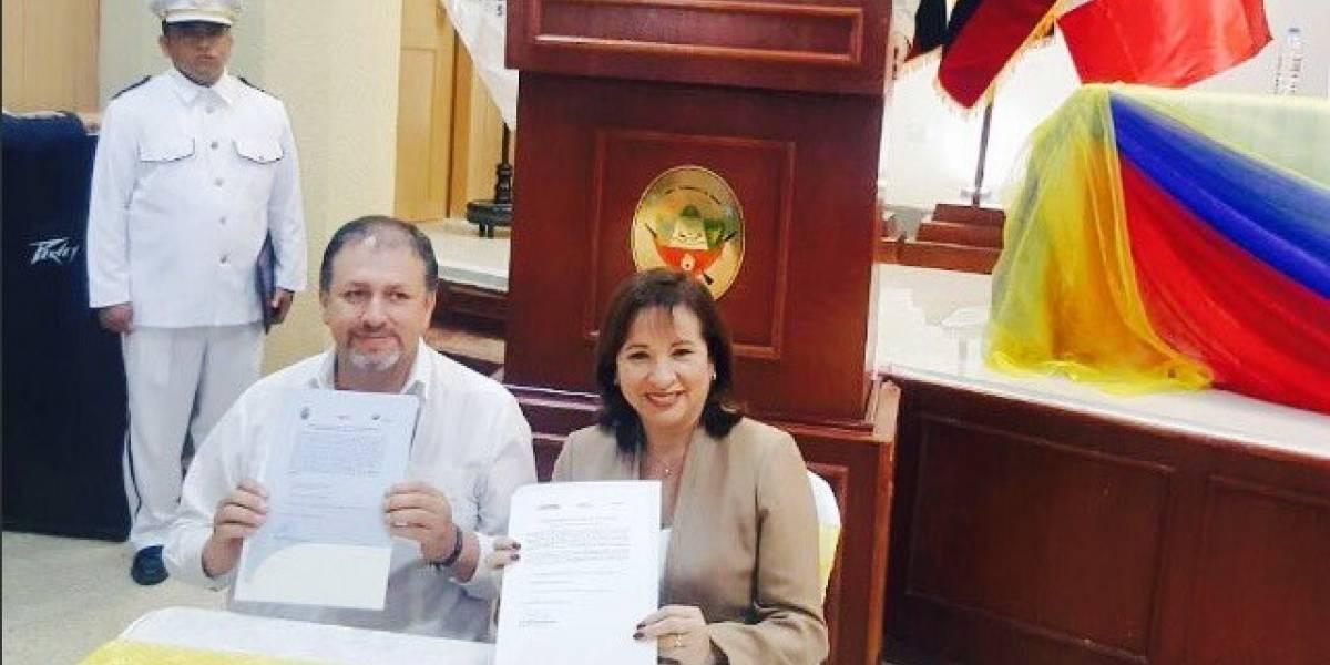 Ecuador y Perú presentan sus