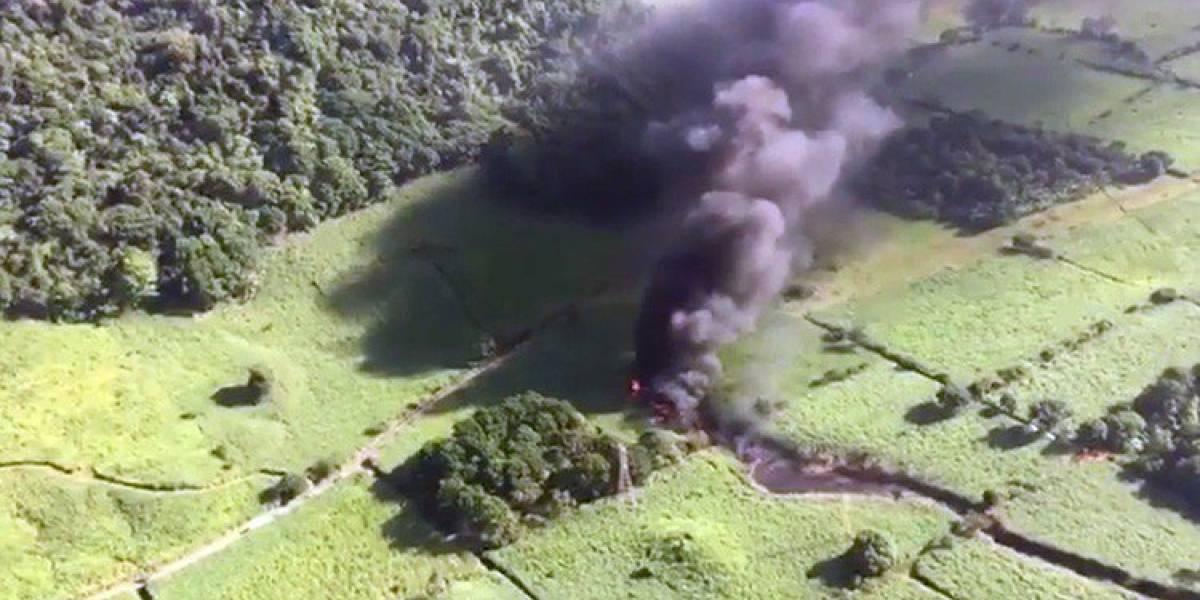 Explota gasoducto de Pemex en Veracruz; al menos un muerto