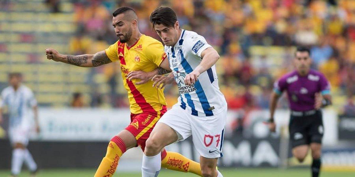 Ángelo Sagal sumó minutos en nueva victoria de Pachuca