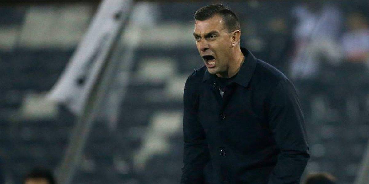 """Guede tras la derrota de Colo Colo:""""Hablar de merecimientos ya no sirve de nada"""""""
