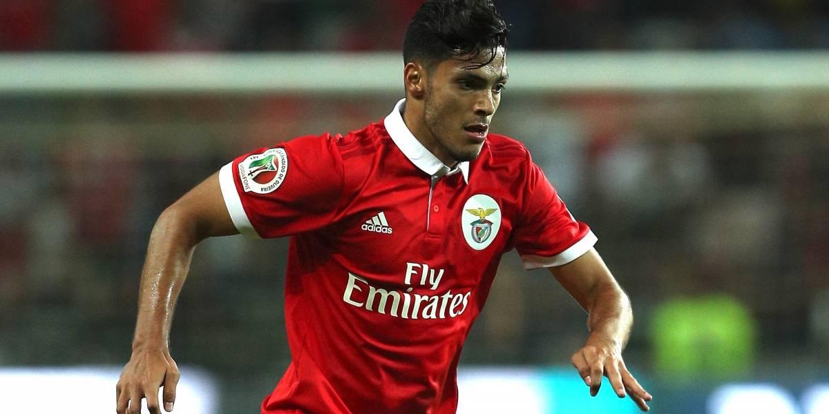 Buena actuación de Raúl Jiménez en la goleada del Benfica