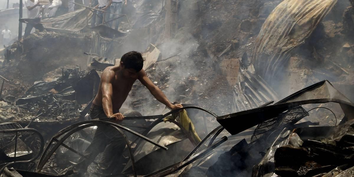 Declaran calamidad por incendio que afectó 471 familias en Medellín