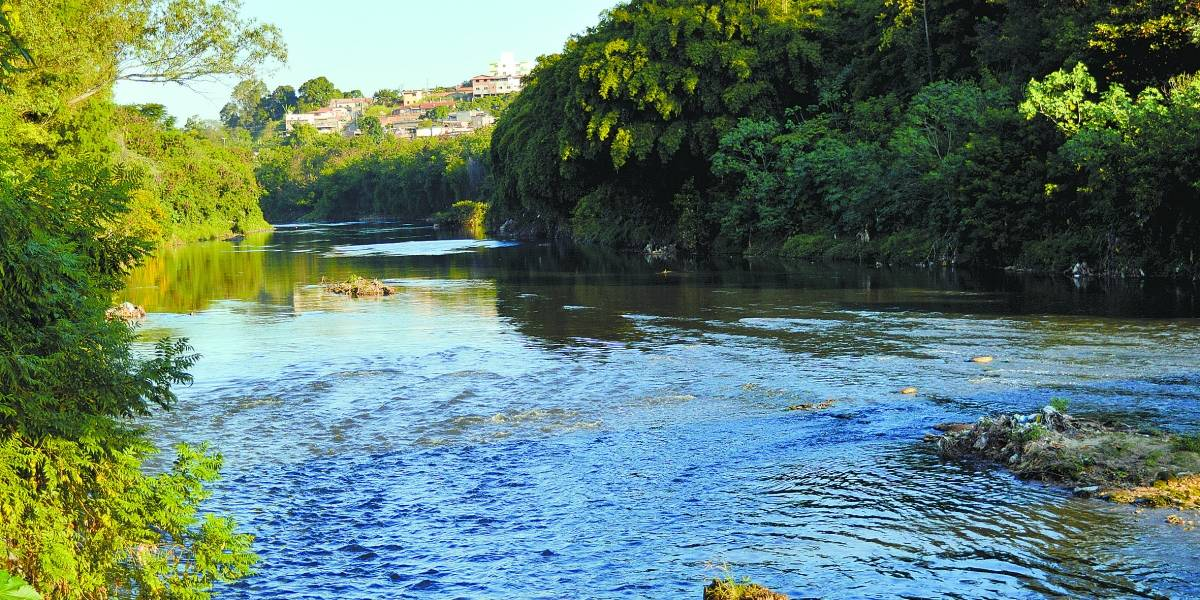 Rio que representa 40% do total do abastecimento da Grande BH tem nível abaixo do recomendado
