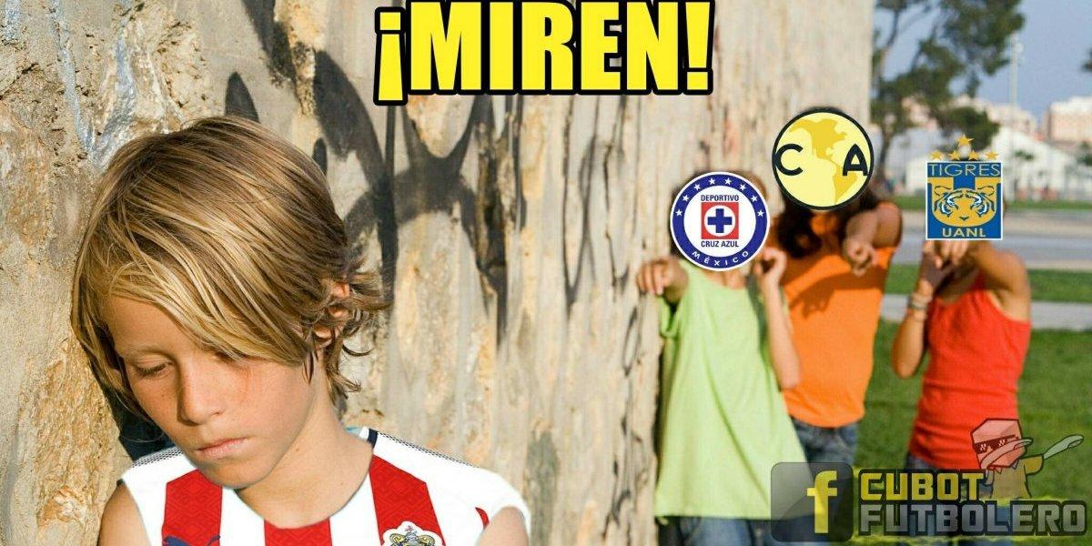 Los memes de campeón Chivas al ser sotanero del Apertura 2017