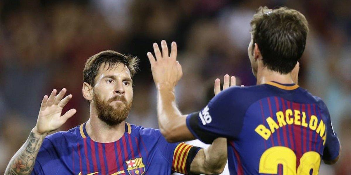 Barcelona inicia la Liga con un triunfo sobre el Betis de Guardado