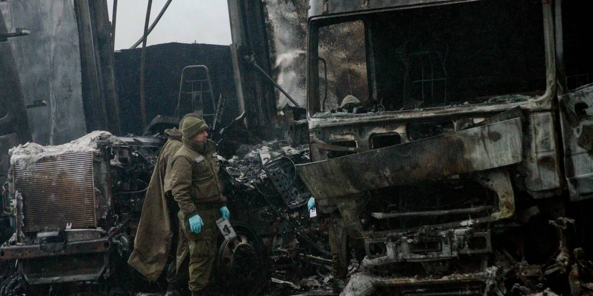Grupo que quemó de 18 camiones en Temuco es indagado por caso Luchsinger-Mackay