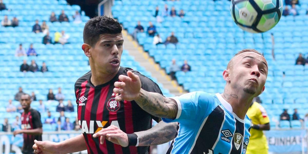 """Esteban Pavez mantuvo su """"invicto"""" en el Brasileirao y fue titular en empate de Atlético Paranaense"""