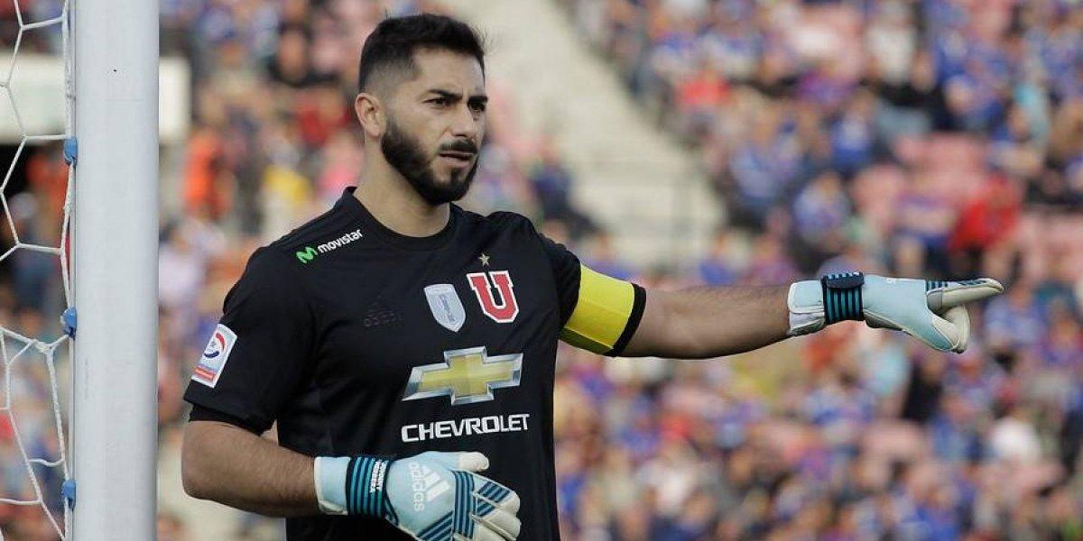 """Un desafiante Johnny Herrera y el Superclásico: """"Tengo la confianza que por fin podemos ganar en ese estadio"""""""
