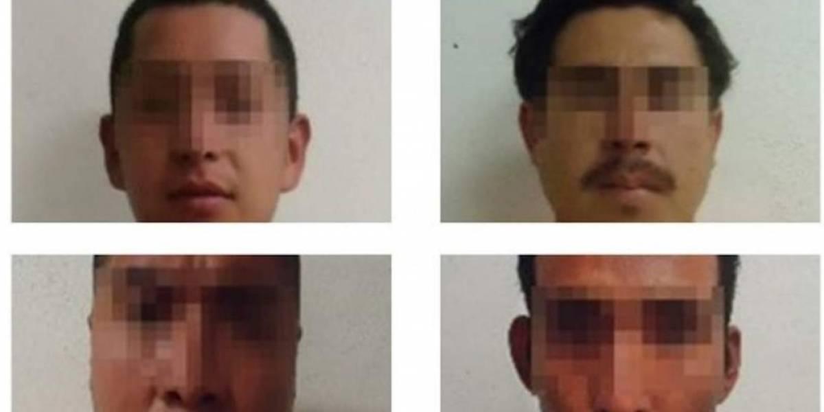 Procesan a 4 por asalto en México-Puebla