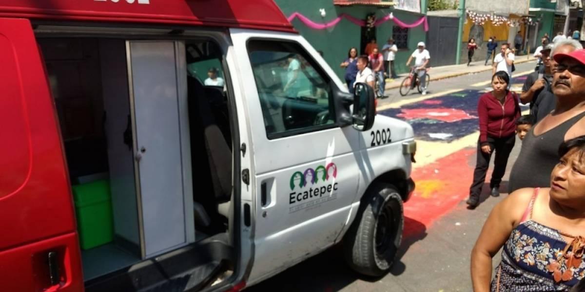Explosión de pirotecnia deja 12 heridos en fiesta patronal en Ecatepec