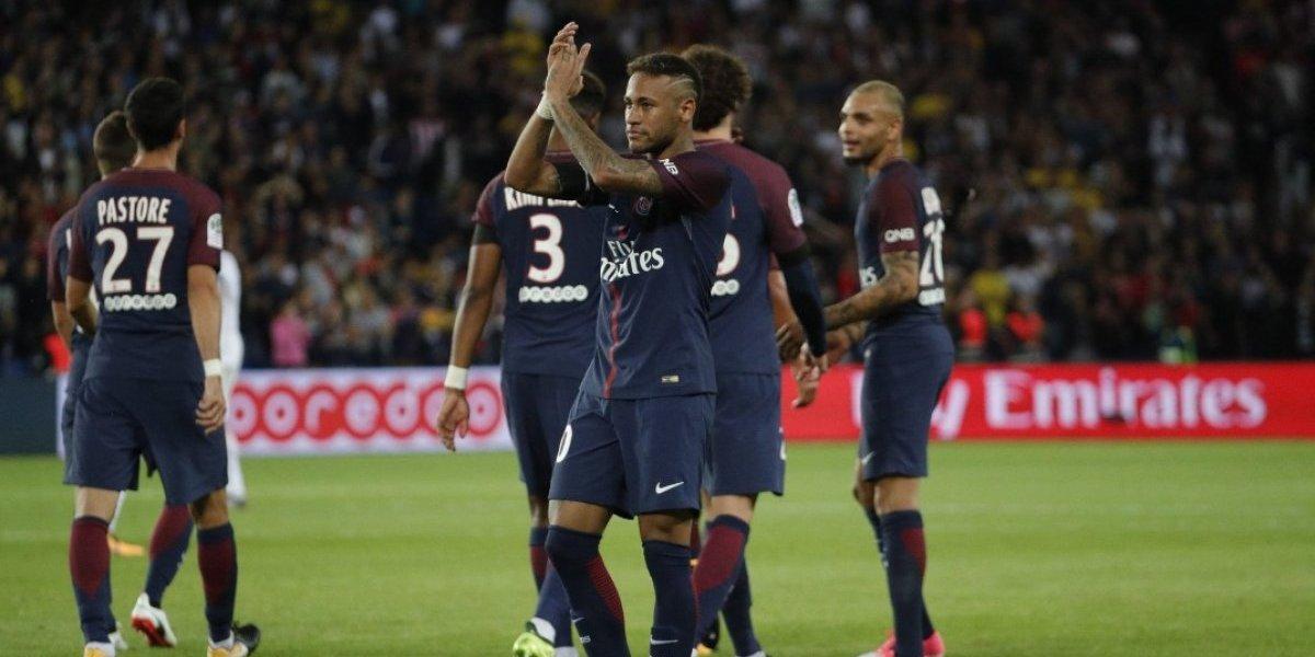 Neymar brilla en goleada del PSG ¡doblete!