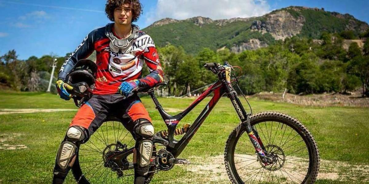 El drama del campeón nacional de mountainbike: no volverá a caminar tras grave accidente