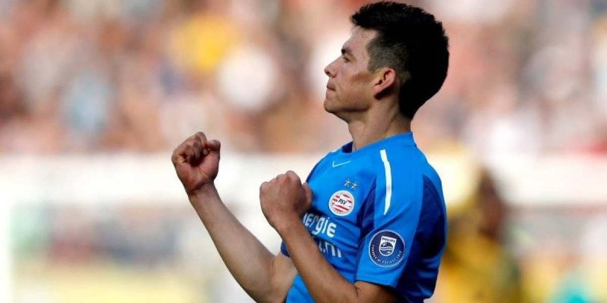 ¡Hirving Lozano está on fire! Volvió anotar con el PSV