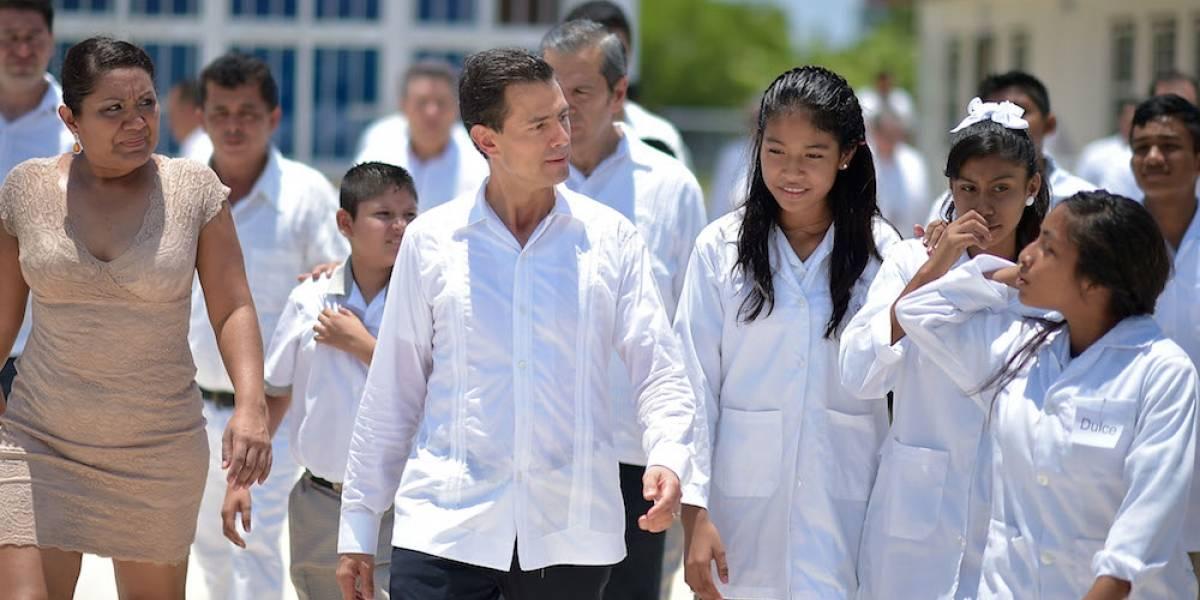 Estar contra reforma educativa es estar contra México Peña Nieto