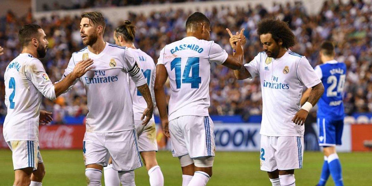Real Madrid inicia la defensa de su corona con triunfo sobre el Depor
