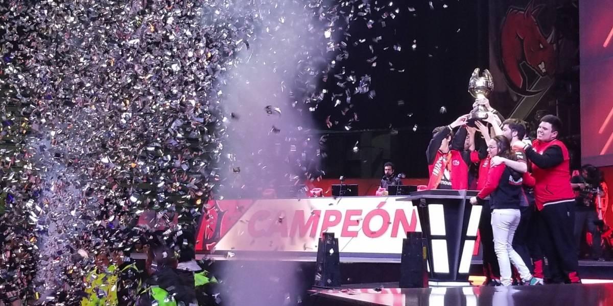 "Equipo chileno ganó la final latinoamericana de ""League of Legends"""