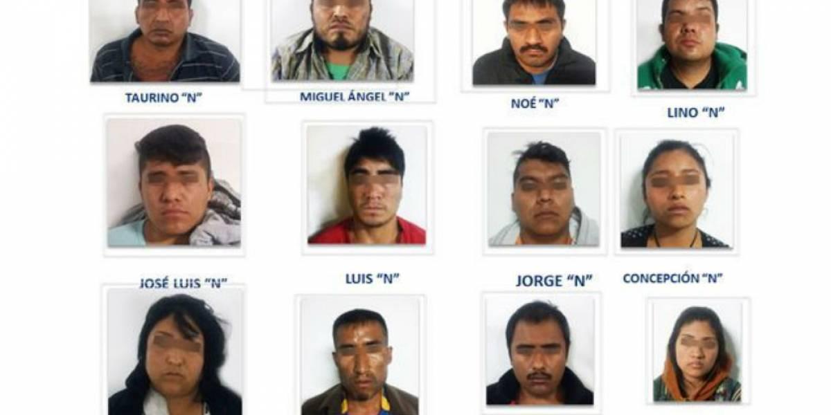 Caen 11 de 'Los Cuijes' en Puebla; están ligados a robos y homicidios en la entidad