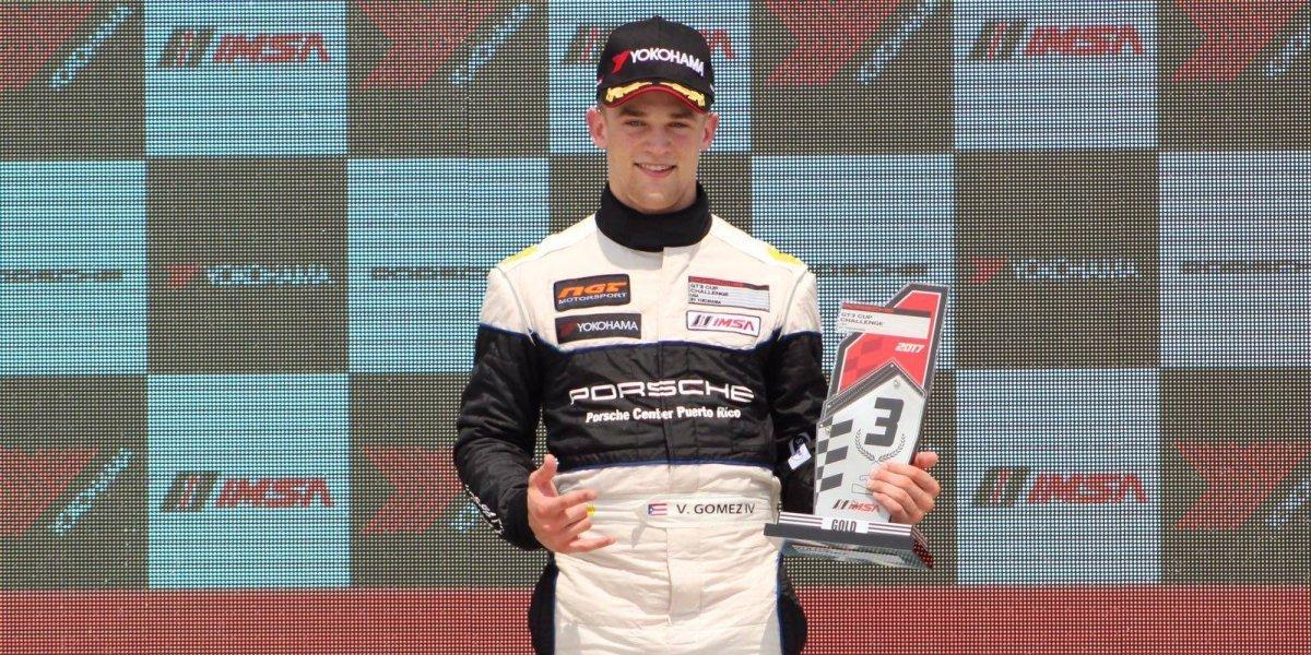 Tres podios para Víctor M. Gómez IV y su Porsche 911