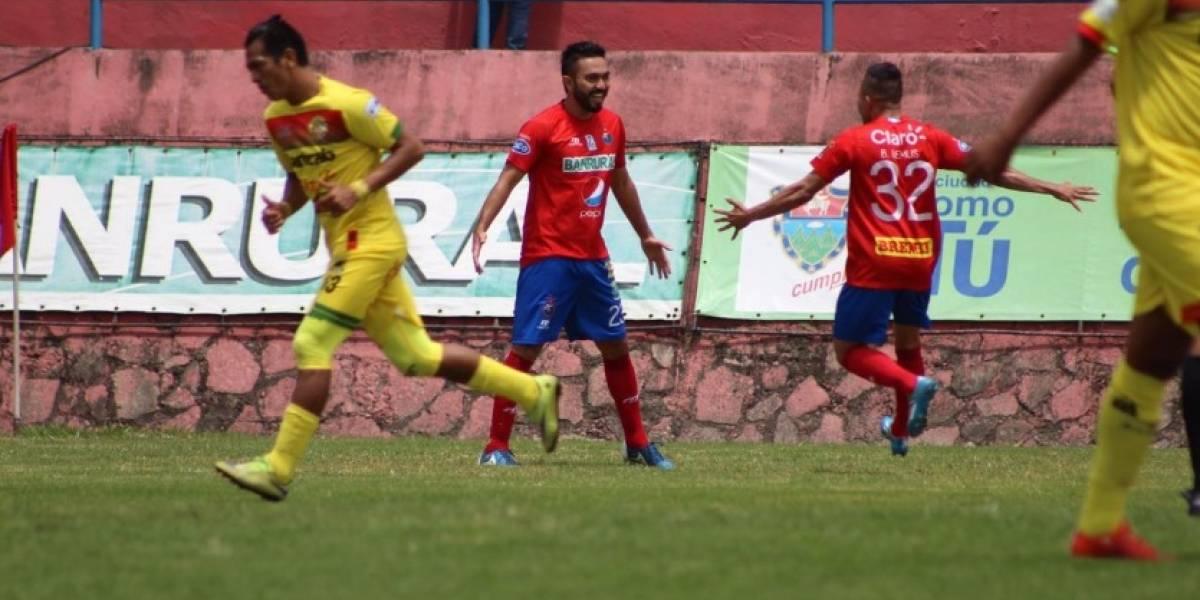 Municipal recupera la alegría ante Marquense con un gol de Kamiani