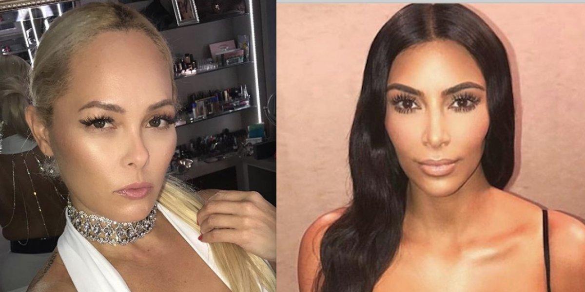 Junte entre la esposa de Miguel Cotto y Kim Kardashian