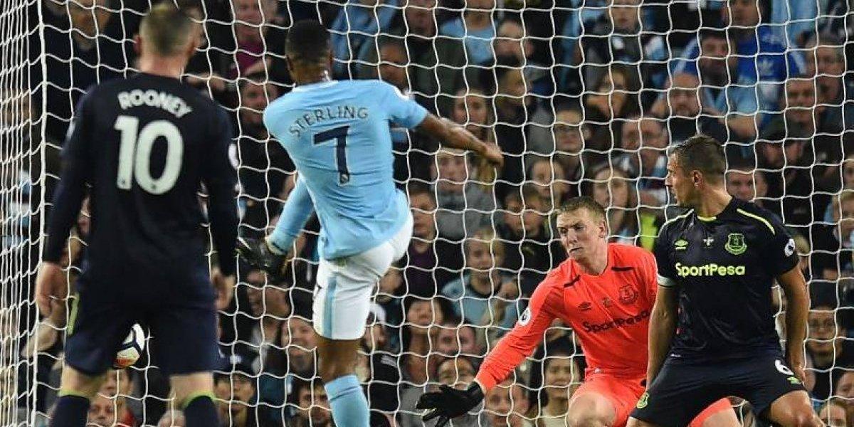 Con Bravo en la banca, Manchester City salva un empate sobre la hora ante Everton